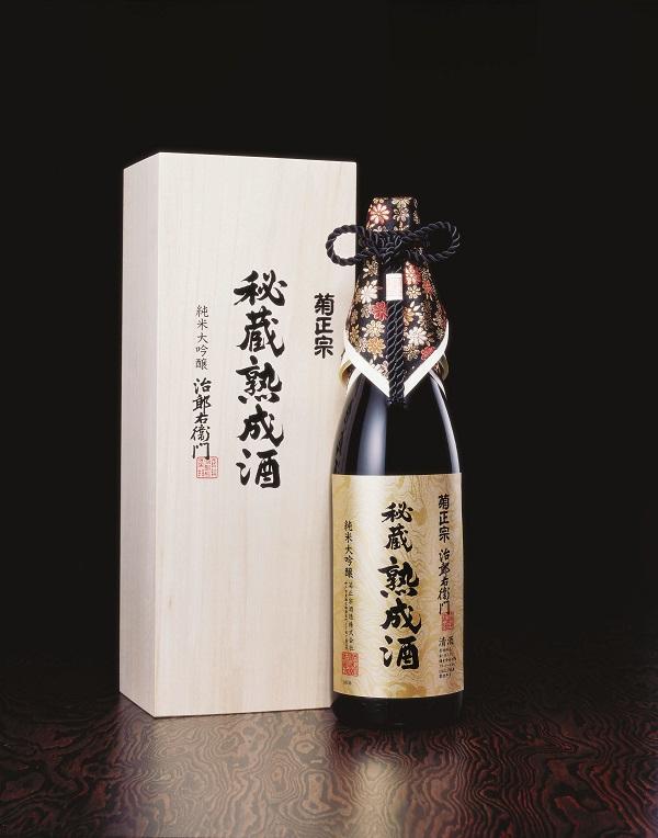 「菊正宗 秘蔵熟成酒 1.8L 桐箱入り」