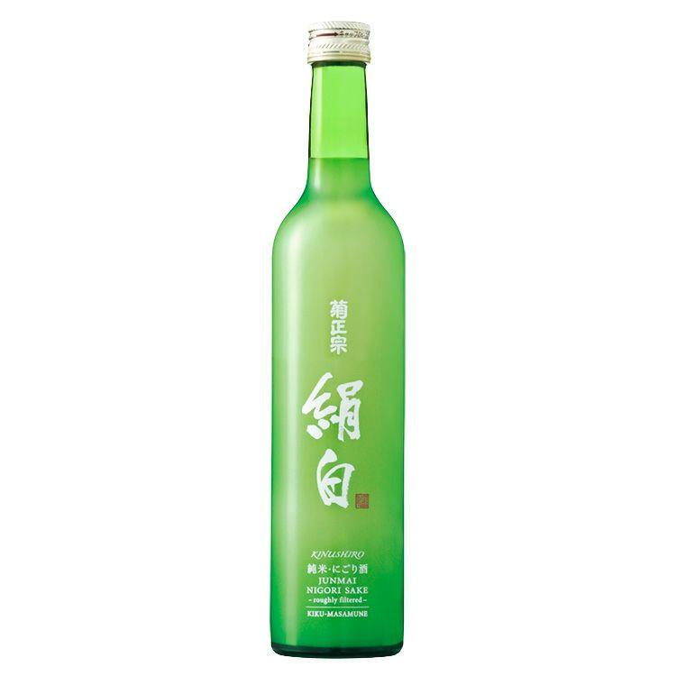 「菊正宗 上撰 純米にごり酒 絹白 500ml」絹に酔う年末