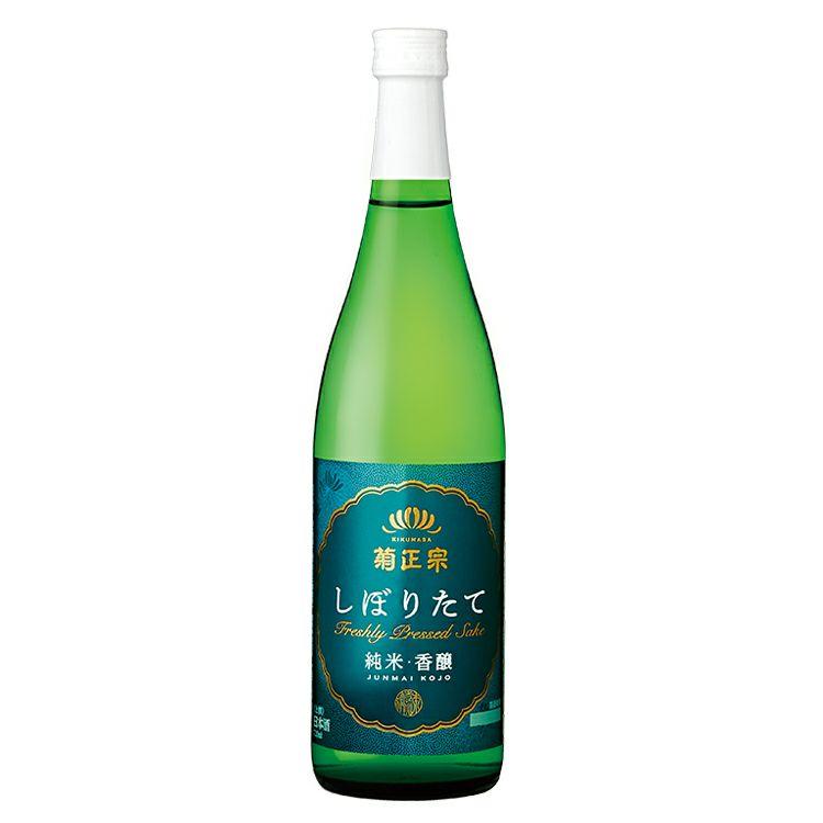 「菊正宗 上撰 しぼりたて純米・香醸 720ml」
