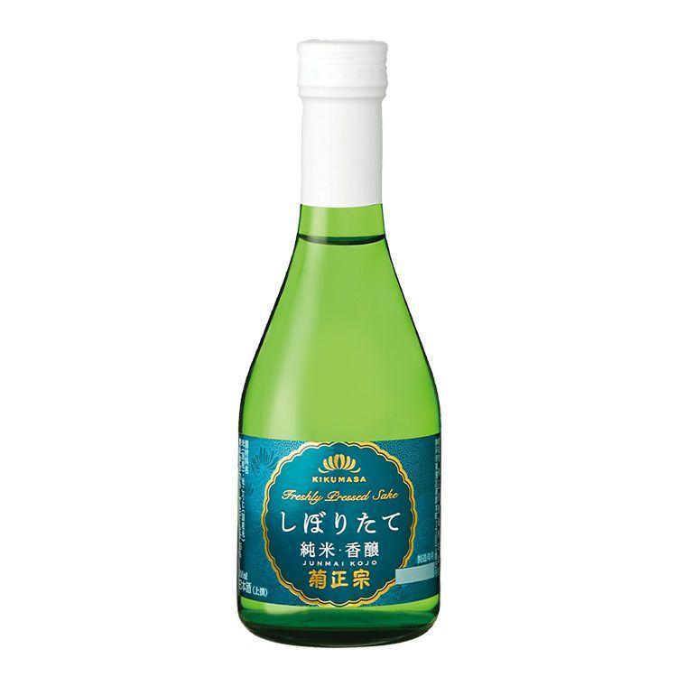 「菊正宗 上撰 しぼりたて純米・香醸 300ml」